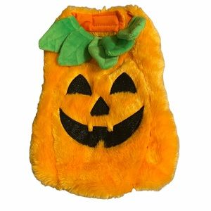 Jack-o-lantern Halloween Pumpkin Dog Costume XS